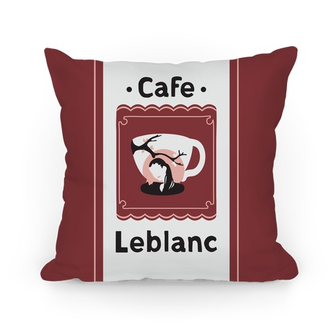 Cafe Leblanc Pillow