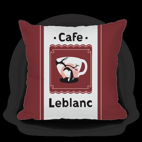 Cafe Leblanc Pillow