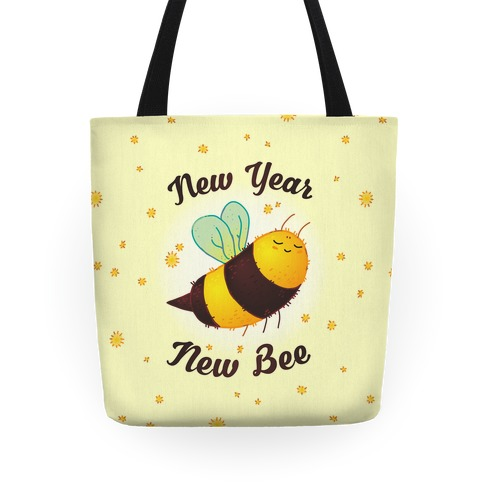 New Year New Bee Tote