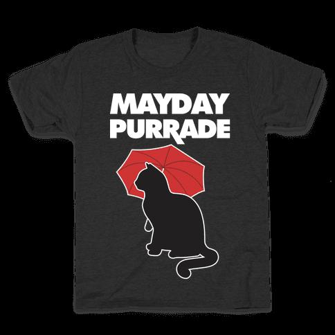 Mayday Purrade Kids T-Shirt
