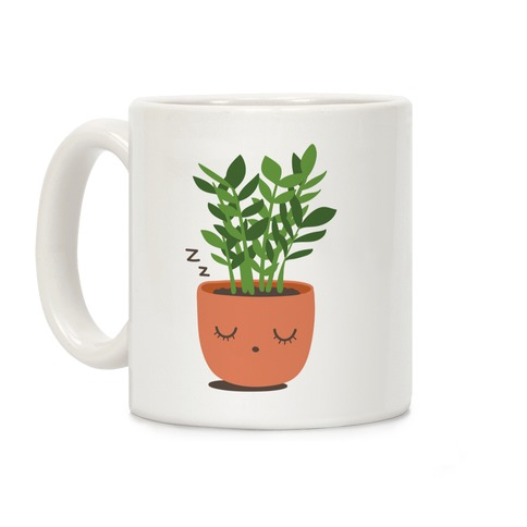 Sleepy ZZ Plant Coffee Mug
