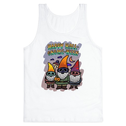 Coloring Book Gnome Tank Top