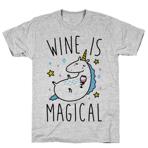 Wine Is Magical Mens T-Shirt