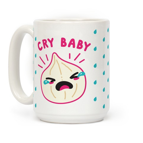 Cry Baby Onion Coffee Mug