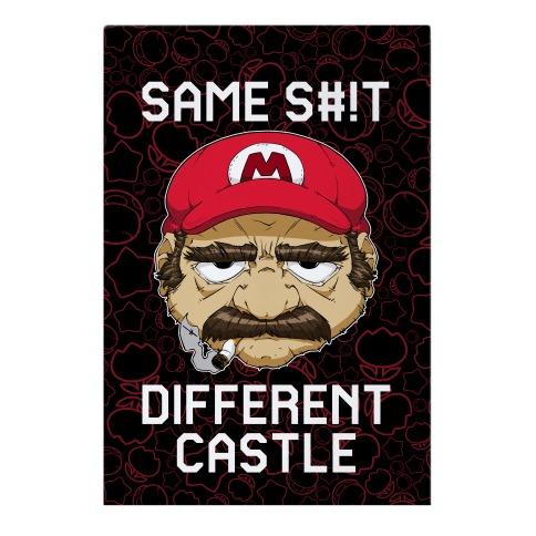 Same S#!t Different Castle Garden Flag