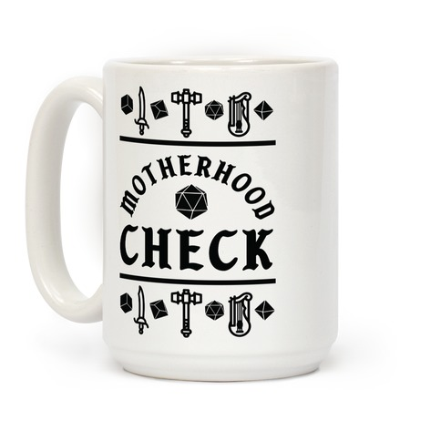 Motherhood Check Coffee Mug