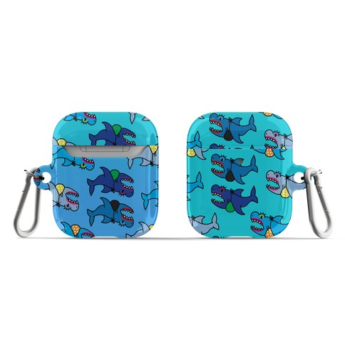 Sexy Shark Pattern AirPod Case