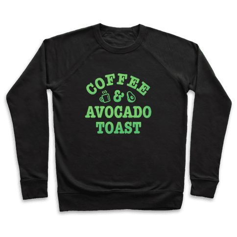 Coffee & Avocado Toast Pullover