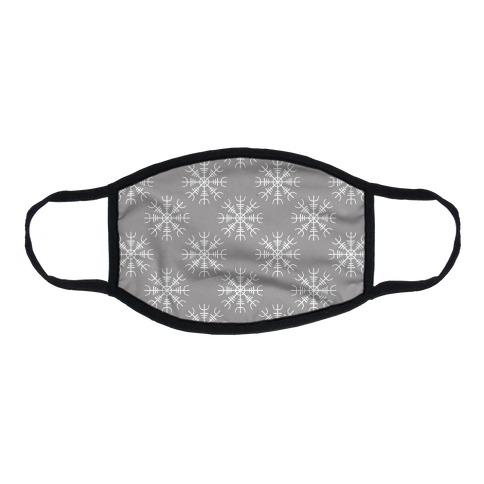Helm of Awe Flat Face Mask