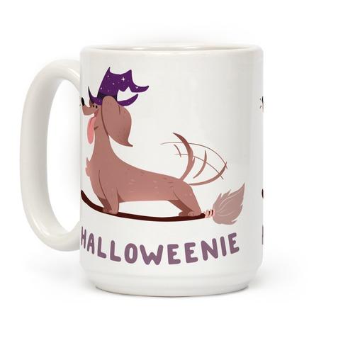 A Halloweenie!  Coffee Mug