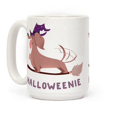 A Halloweenie!  Coffee Mug