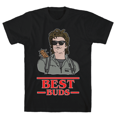 Best Buds Steve Mens T-Shirt