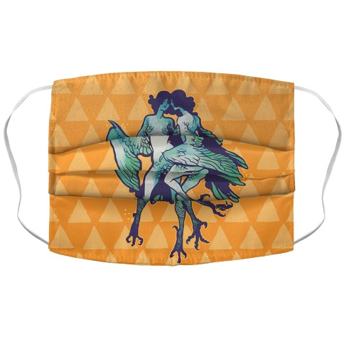 Harpy Monster Girls Accordion Face Mask