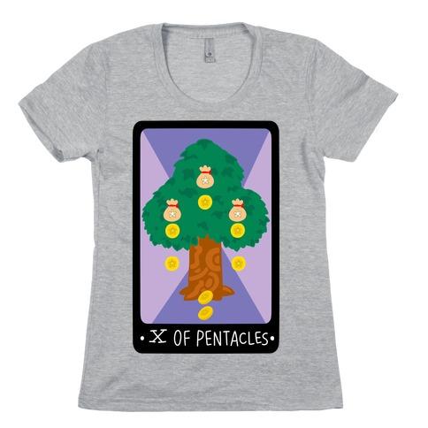 Ten of Pentacles Womens T-Shirt
