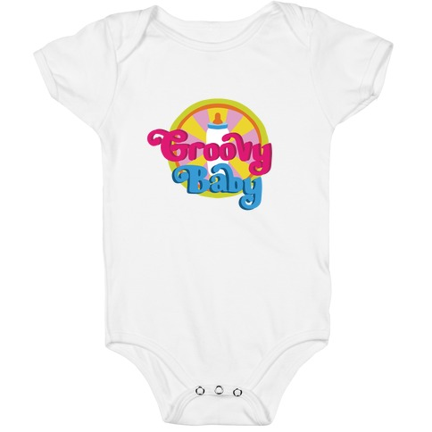 Groovy Baby Baby One-Piece