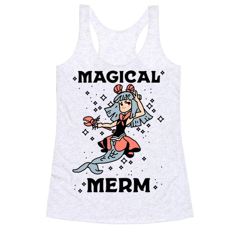 Magical Merm Racerback Tank Top