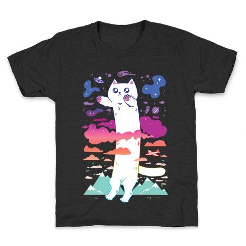 Long Cat Kids T-Shirt