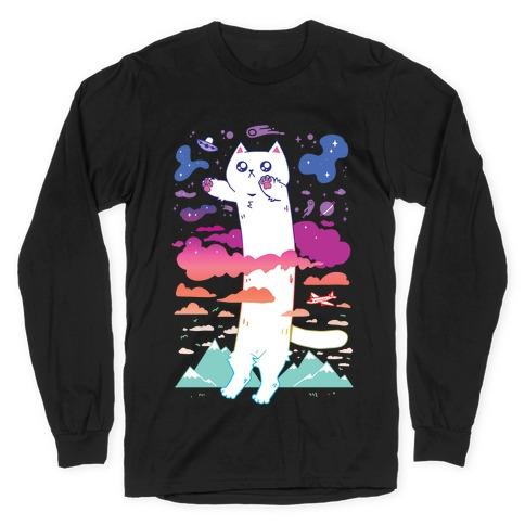 Long Cat Long Sleeve T-Shirt