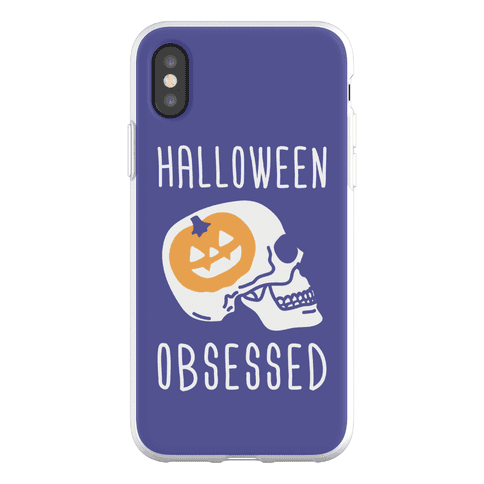 Halloween Obsessed Phone Flexi-Case