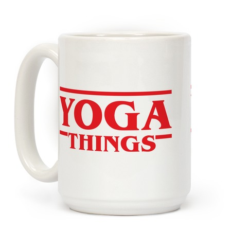 Yoga Things Coffee Mug