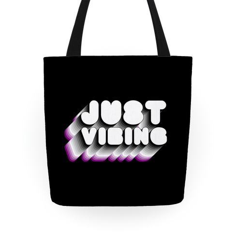 Just Vibing (Ace Pride) Tote
