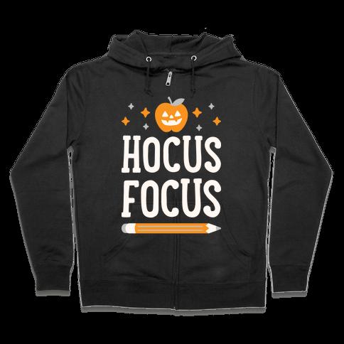 Hocus Focus Zip Hoodie