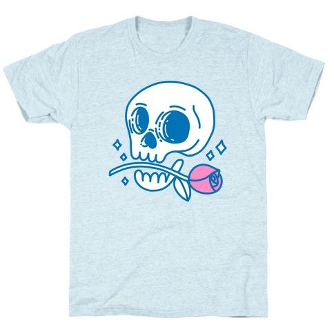 Hopeless Romantic Skull T-Shirt