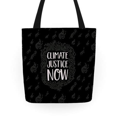 Climate Justice Now Tote