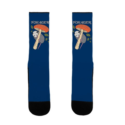 Forager Opossum Sock