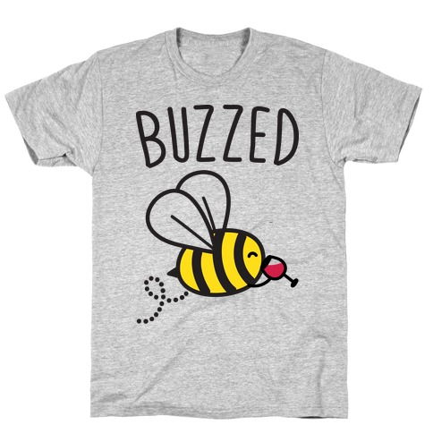 Buzzed Wine Bee T-Shirt