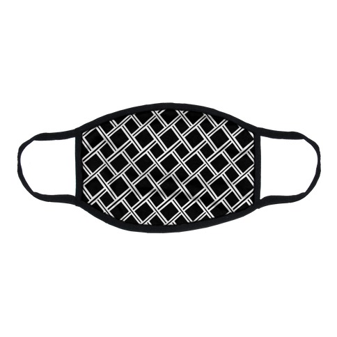 Weaving Pattern Flat Face Mask