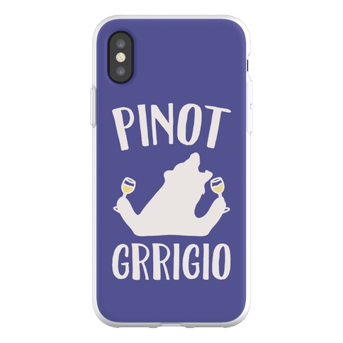 Pinot Grrigio Phone Flexi-Case