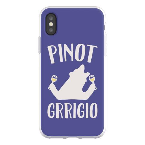 Pinot Grrigio Phone Flexi-Case