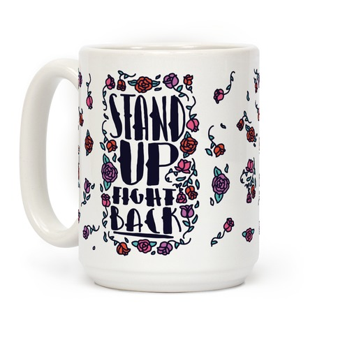 Stand Up Fight Back Coffee Mug