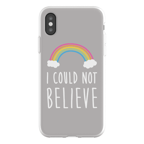 I Could Not Believe Queer Eye Rainbow (Pair 2/2) Phone Flexi-Case