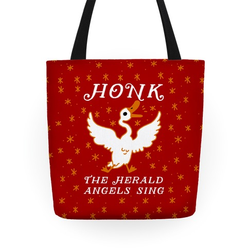 Honk The Herald Angels Sing! Tote