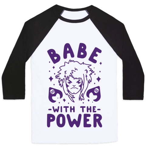 Babe with the Power Baseball Tee