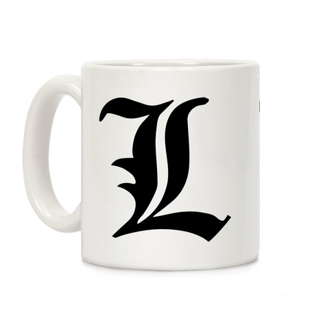L Insignia Coffee Mug