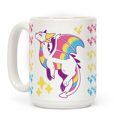 Pan Pride Dragon Coffee Mug