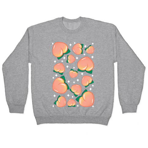 Plump Peaches Pattern Pullover