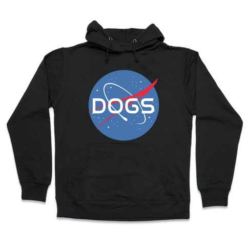 Dogs Nasa Parody Hooded Sweatshirt