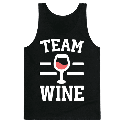 Team Wine Tank Top