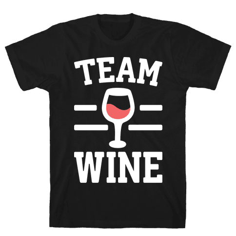 Team Wine Mens/Unisex T-Shirt