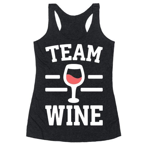 Team Wine Racerback Tank Top