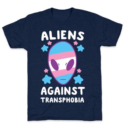 Aliens Against Transphobia T-Shirt