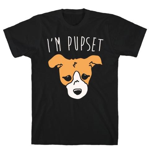 I'm Pupset White Print T-Shirt