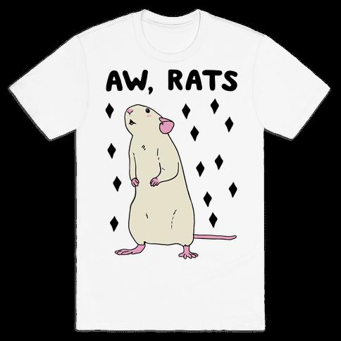 Aw, Rats Mens T-Shirt