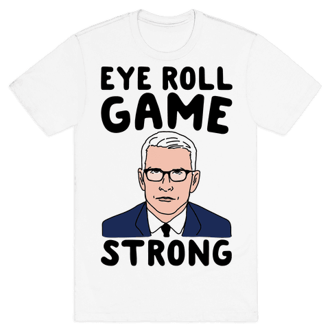 Eye Roll Game Strong Mens T-Shirt