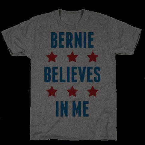 Bernie Believes In Me Mens T-Shirt