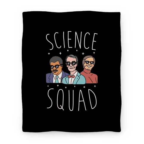 Science Squad Blanket